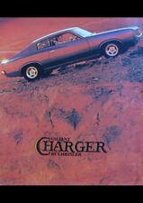 "1973 VJ CHRYSLER VALIANT CHARGER AD A2 CANVAS PRINT POSTER FRAMED 23.4""x16.5"""