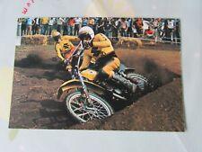 SYLVAIN GEBOERS & JOEL ROBERT 1976 motor cycle Motocross Carte Postale par VANDERHOUT