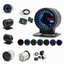 """2"""" 52mm 7 Colors LED Backlight Auto Car Air Fuel Ratio Gauge Meter +Mounting Kit"""