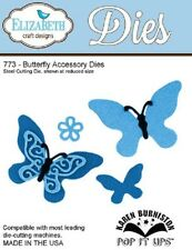 Elizabeth Craft Designs Cutting Die  BUTTERFLY ACCESSORY DIES 773  REDUCED