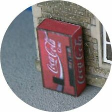 OO GAUGE COKE COLA CAN VENDING MACHINE FOR HORNBY MODEL RAILWAY STATION LAYOUT