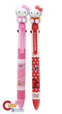Hello Kitty Figure Top Multi Functional Pen 2pc Set School Office Stationery