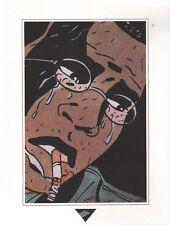 Affiche BERTHET 1993 Dupuis Extrait Sur la route de Selma  23x30