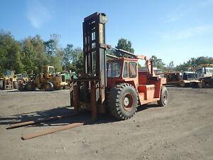 Forano Eaves E300 30000 LB Forklift Fork Truck RUNS NICE! Cummins Dsl 8' Forks