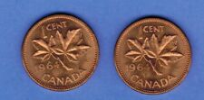 1964  CANADA PENNY 2 SIDED TAILS MAGIC COIN NEVER LOSE A COIN TOSS....SA 583