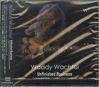 WADDY WACHTEL-UNFINISHED BUSINESS -DEMOS. PRIVATE RECORDINGS...-JAPAN CD F08