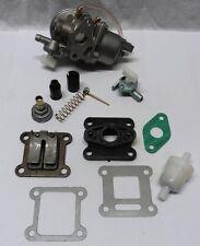 Reparaturset Vergaser für Pocketbike Motor 49cc mit Dichtung Membran Benzinhahn