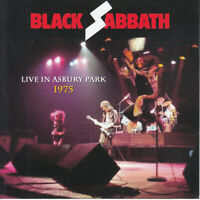 Black Sabbath Live at Asbury Park 1975 Sabotage Tour Ozzy Tony Geezer Bill 2 CD