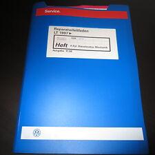 VW LT II Werkstatthandbuch 4-Zyl. 2,8L 92 kW Diesel Motor AGK ATA Stand 1998