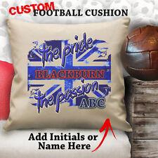 Personalised Blackburn Rovers Football Cushion Custom Cover Canvas Sport Gift
