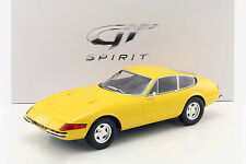 GT Spirit Ferrari 365 GTB/4 Daytona Coupe Yellow ZM093 LE 300pcs 1:12*New Item!