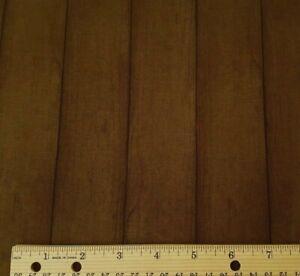 Colors of Fall BTY Stephanie Marrott Wilmington Dark Brown Wood Plank