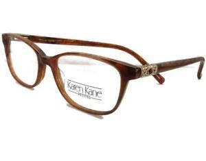 Karen Kane Eyeglasses Jasper Mocha Women plastic 49-16-135  Petites