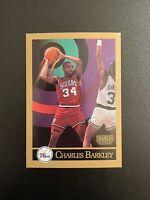 1990-91 SkyBox Philadelphia 76ers #211 Charles Barkley Basketball Card PSA Ready