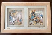 Beatrix Potter Decoupage Living Pictures ~ John Ellam ~ 23/100