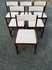 Set 6 Vintage Gangso Mobler Mid Century Danish Modern Dining Room Chairs