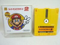 SUPER MARIO BROS 2 No Instruction Nintendo Famicom Disk Japan Game dk