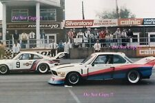 Ronnie Peterson BMW 3.5 CSL Turbo Silverstone 6 Hours 1976 Photograph 1