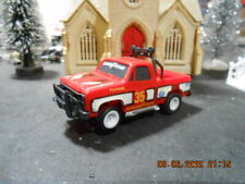 AURORA AFX TYCO TOMY RED GMC PICKUP TRUCK SLOTCAR VERY FAST CAR LOOSE NOS