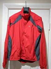 Pearl Izumi Men's Convertible Cycling Jacket Vest Red Large