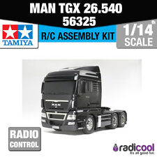 56325 Tamiya MAN TGX 26.540 6x4 XLX 1/14th R/C Radio Control Assembly Model Kit