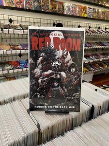 Red Room: The Antisocial Network 3 V1 Takashi Okazaki 1:5 Variant Cover - 2021