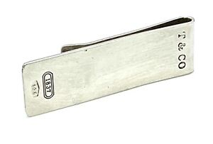 Vintage Tiffany & Co Sterling Silver Money Clip Engraved