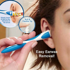 Easy Ear Wax Cleaner Removal Swab Earwax Remover Spiral Soft Tool Safe Earpick