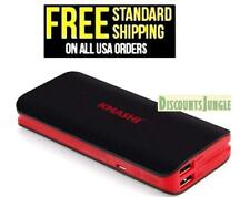 KMASHI 10000mAh Portable Power Bank Dual USB Ports 3.1A Output & 2A Input indica