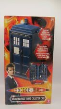 Doctor Who MICRO UNIVERSE TARDIS COLLECTOR CASE - HOLDS 32 FIGURES MIB