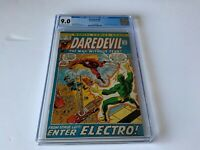 DAREDEVIL 87 CGC 9.0 BLACK WIDOW ELECTRO MARVEL COMICS 1972