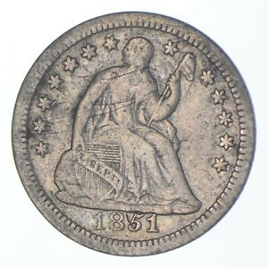 5c *1/2 Dime HALF* 1851-O Seated Liberty Half Dime Early American Type Coin *481