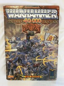 Warhammer 40k Rogue Trader 1st Edition Hardback Rule Book 1987 2nd imprint rare