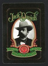 #850.162 vintage WIDE swap card -MINT- Advert. Jack Daniel's Whiskey, green