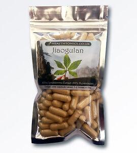Jiaogulan ( 70:1 equivalent to 28,000mg ), Vegetarian Capsules