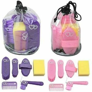 Elico Wexford Kids Glitter Grooming Kit (Horse, Pony, Equestrian, Childrens)