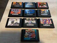 Sega Genesis Games You Pick - Tested - Free Sticker - US Seller
