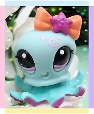 Littlest Pet Shop Blythe Aqua Blue Purple Octopus #2237 Authentic LPS