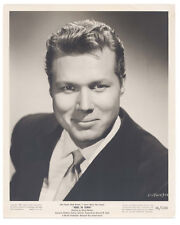 John Smith 1956 Rebel In Town 8x10 Original Portrait HANDSOME