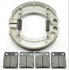 4Pcs//Set Genuine YAMAHA YFM350 2004-2006 Discs Ceramic Front /& Rear Brake Pads
