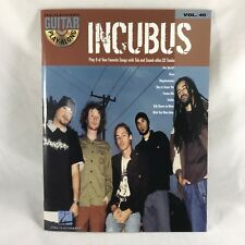 Incubus Guitar Play-Along Song Book w CD Chords Tabs '05 Hal Leonard Sheet Music