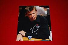 LAYNE FLACK WPT poker wsop signed 8x10 C.O.A. 1