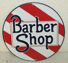 Vintage Style Barber Shop Signs Hair Cut Shave Beauty Salon Oster Clipper