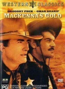 Mackennas Gold DVD Gregory Peck New and Sealed Plays Worldwide NTSC 0