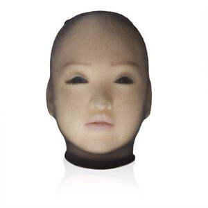 Unisex Reticulated Stocking Headgear Elastic Full Cover Head Mask Hood Role Play
