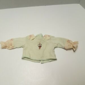 American Girl GOTY Doll Nicki Green Horse Riding Shirt From Ranch Outfit Retired