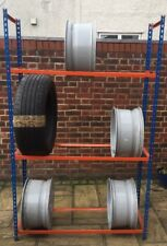 WheelTyre STORAGE RACK RACKING FREESTANDING MEDIUM DUTY - 1.98m x 1.23m x 0.39m