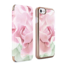 OFFICIAL TED BAKER Womens Floral Folio Case Cover fits iPhone 7 & 6S KNOWAI Nude
