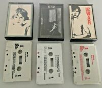 U2 War, Boy and I Still Haven't Found What I'm Looking For Cassette Tapes
