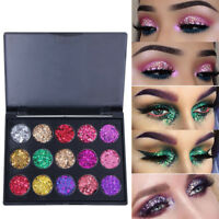 Women Sparkly Makeup Cosmetic Beauty Glitter Loose Powder Eye Shadow Pigment SPB